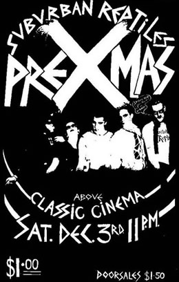 The Reptiles Classic Cinema Xmas 77