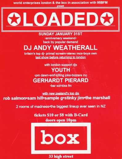 Andy Weatherall Poster