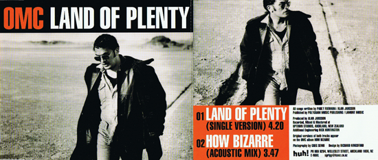 Land Of Plenty sleeve