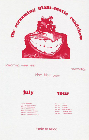 Screaming Blam-matics Poster
