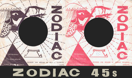 Simongriggdotinfo | Zodiac Records